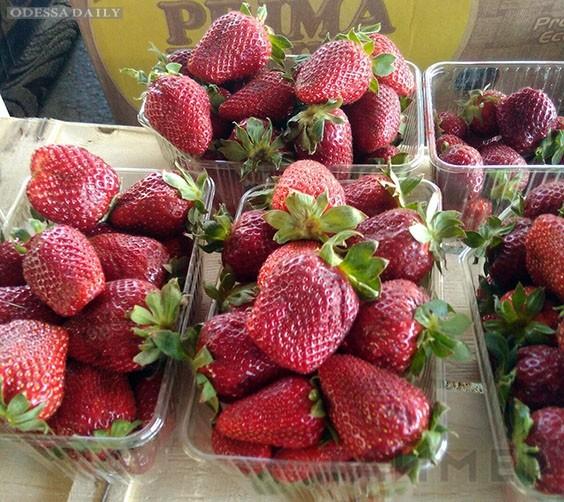 Цены в Одессе: бананы — по 30 гривен, первая клубника — по 120