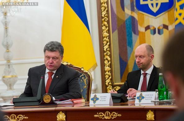 У управления К СБУ нет достаточных правовых оснований для коррупционных претензий к Порошенко и Яценюку