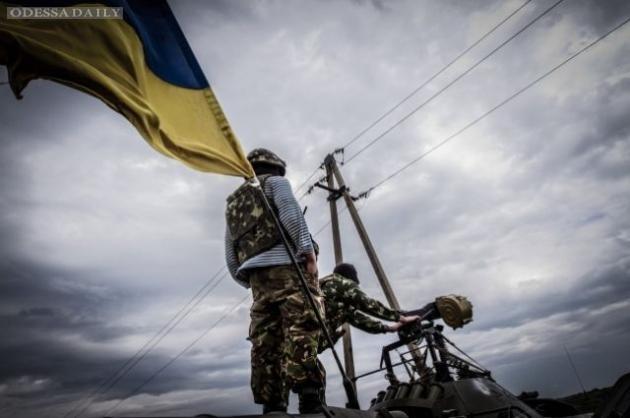 За время АТО погибли 1750 украинских военных, - МОУ