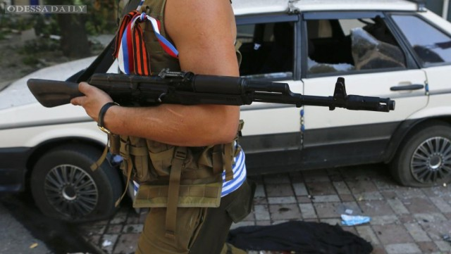 Штаб АТО сообщил об активизации боевиков вблизи Мариуполя