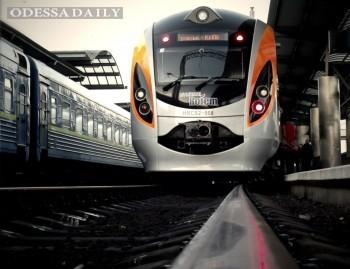 Укрзализныця запускает на лето еще один поезд Интерсити+ Киев-Одесса