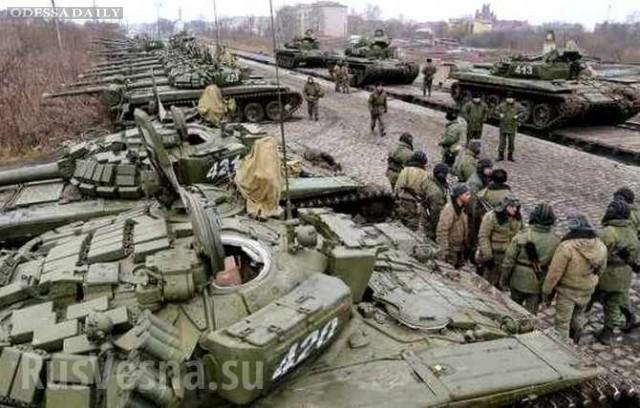 Сводка ИС: под Дебальцево резко возросло количество регулярных войск РФ