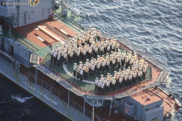 Моряки из Крыма получили жилье возле Одессы. ВИДЕО
