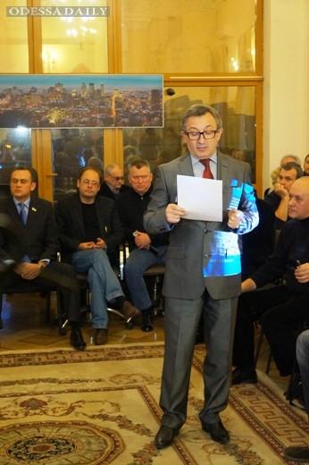 Одесский градсовет подвел итоги конкурса на лучшую концепцию развития побережья