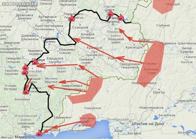 Ситуация на Донбассе: расклад сил к началу перемирия