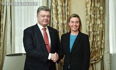 Могерини поддержала продление санкций против России