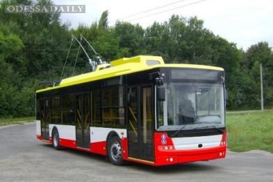 Мэрия Одессы покупает в компании Порошенко 5 троллейбусов