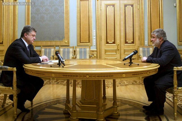 У Порошенко рассказали, о чем он говорил с Коломойским