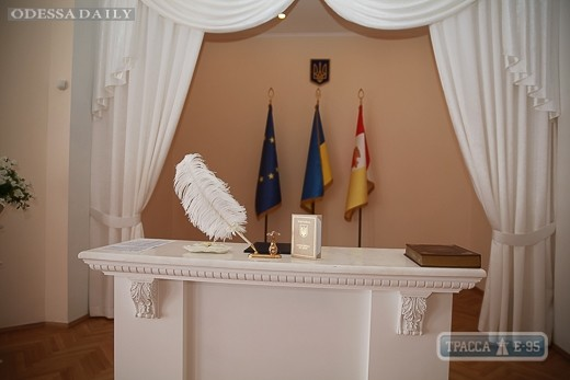 Мэрия потребует от Минюста снижения стоимости регистрации экспресс-браков в Одессе