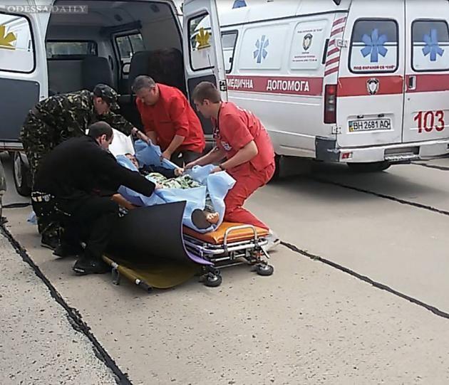 В Одесский военный госпиталь доставили 28 раненых бойцов АТО