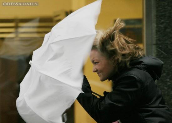 Штормовые порывы ветра ожидаются в Одессе сегодня во второй половине дня