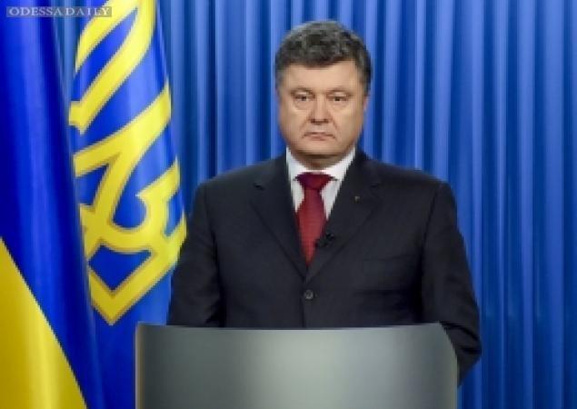 Порошенко обратился к украинцам в связи с расстрелом в Волновахе