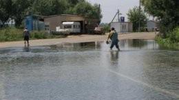Наводнение блокировало движение по трассе Одесса-Рени