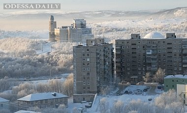 В РФ 300-тысячный Мурманск остался без газа в 30-градусный мороз
