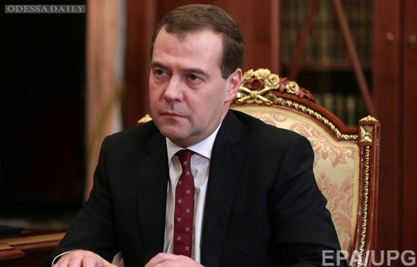 Медведев назвал Украину потенциальным военным противником России