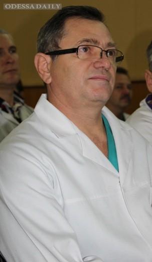 Одесский врач от Бога – Илья Гайдаржи - награжден знаком отличия «Трудовая слава»