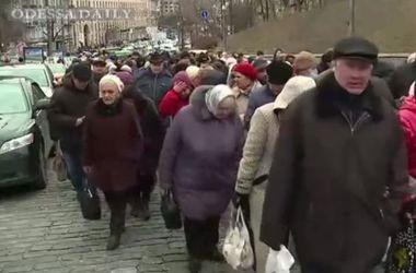 От Европейской площади к Раде двинулась 5-тысячная колонна