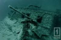 В Чёрном море дайверы обнаружили затонувшее немецкое судно
