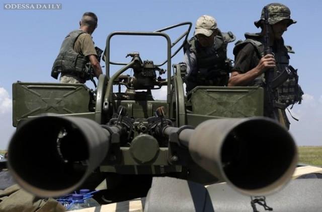 Боевики из минометов обстреляли Старогнатовку и Чермалык, а из Градов - Опытное и Пески