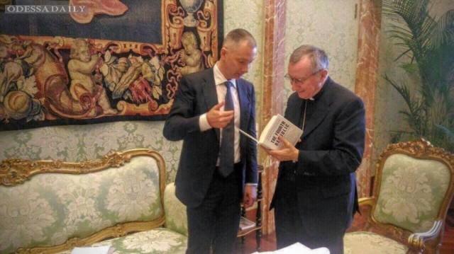 Украина привлекла Папу Римского к освобождению заложников в Донбассе и РФ