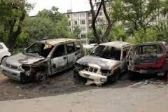 На Закарпатье поджоги автомобилей чиновников стали массовыми