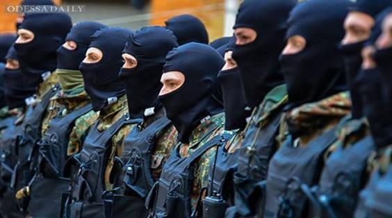 Одесские добровольцы прибыли в зону АТО