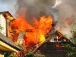 От огня спасли жилой дом