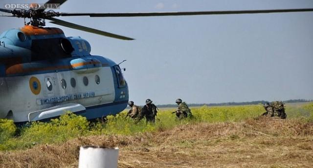 В Одесской области прошли учения войск береговой обороны