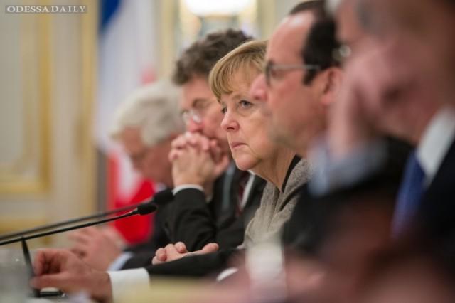 План Меркель-Олланда предполагает отказ Украины от НАТО и федерализацию - Le Figaro