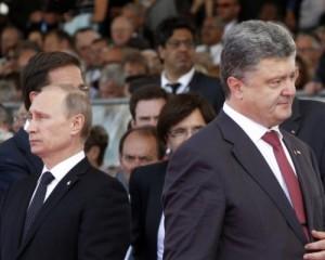 Путин подтвердил, что Порошенко не предлагал ему забирать Донбасс