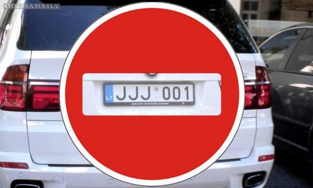 В Одессе водитель авто на еврономерах выиграл суд у таможни