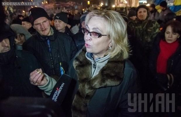 Кужель отзывает заявление из ГПУ об «избиении» ее Тетеруком