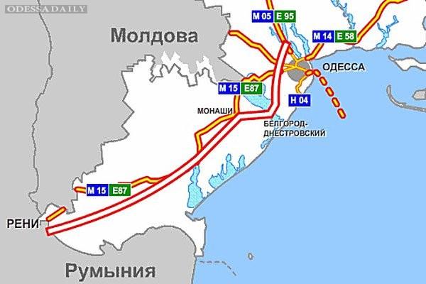 Ремонт трассы Одесса-Рени начнется со следующей недели