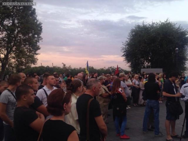 Митинг-реквием по «Иловайскому котлу» прошёл у Дюка