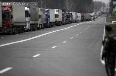 Россия собирается ввести талоны для дальнобойщиков из Украины