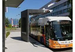В Китае запустят электробусы, которые заряжаются без проводов на остановках