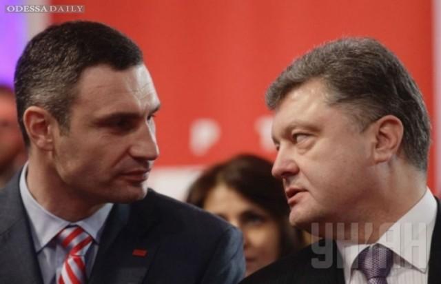 Кличко и Порошенко договорились о слиянии партий, — источник