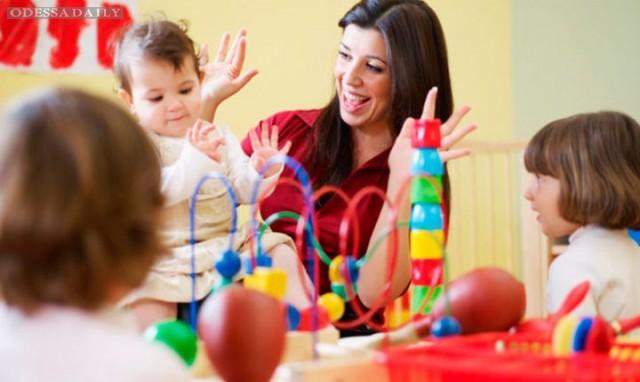 В Одессе не хватает воспитателей детсадов