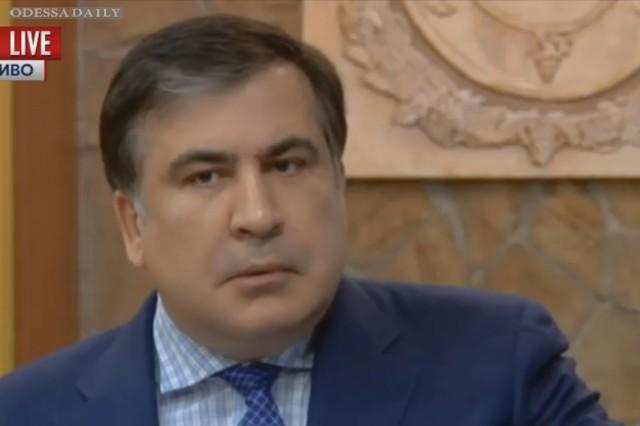 Саакашвили: Только дебил может считать, что я приехал в Украину делать деньги (видео)