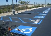 В Украине увеличат штраф за незаконную парковку на местах для инвалидов