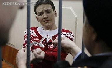 Савченко отказалась прекращать голодовку, ее здоровье в норме