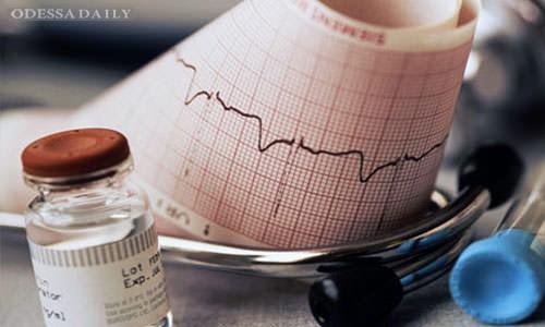 40 тысяч украинцев ежегодно переносят инфаркт миокарда