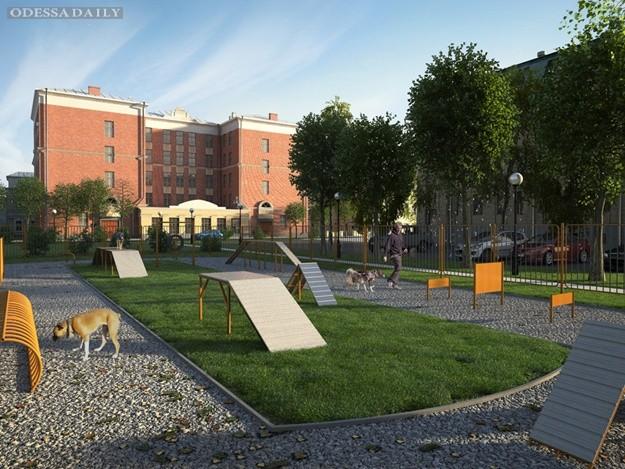Для братьев младших: в центре Одессы установят площадку для собак