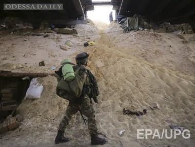 Наблюдатели ОБСЕ обнаружили в районе донецкого аэропорта останки погибших в военной форме