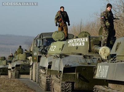 Сводка ИС: боевики продолжают переброску бронетехники на ряде направлений