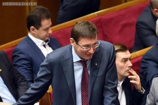 Луценко объяснил, почему Шокин не смог реформировать прокуратуру