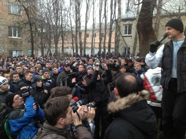 МАРШ НА ПОДДЕРЖКУ БЕЗ ВИНЫ наказаний СЕМЬИ Павличенко