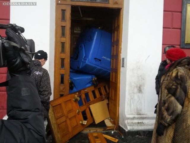 Штурмом Одесской мэрии занялась милиция