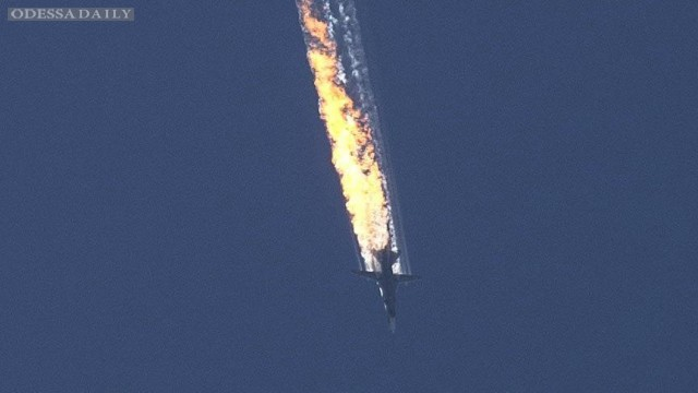 ВВС Турции сбили российский Су-24 в воздушном пространстве Сирии – Reuters