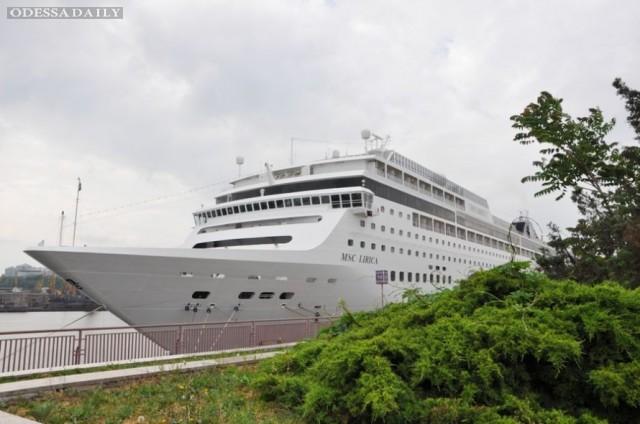 Одесситы сегодня отправятся в полукруговое морское путешествие на лайнере MSC LIRICA